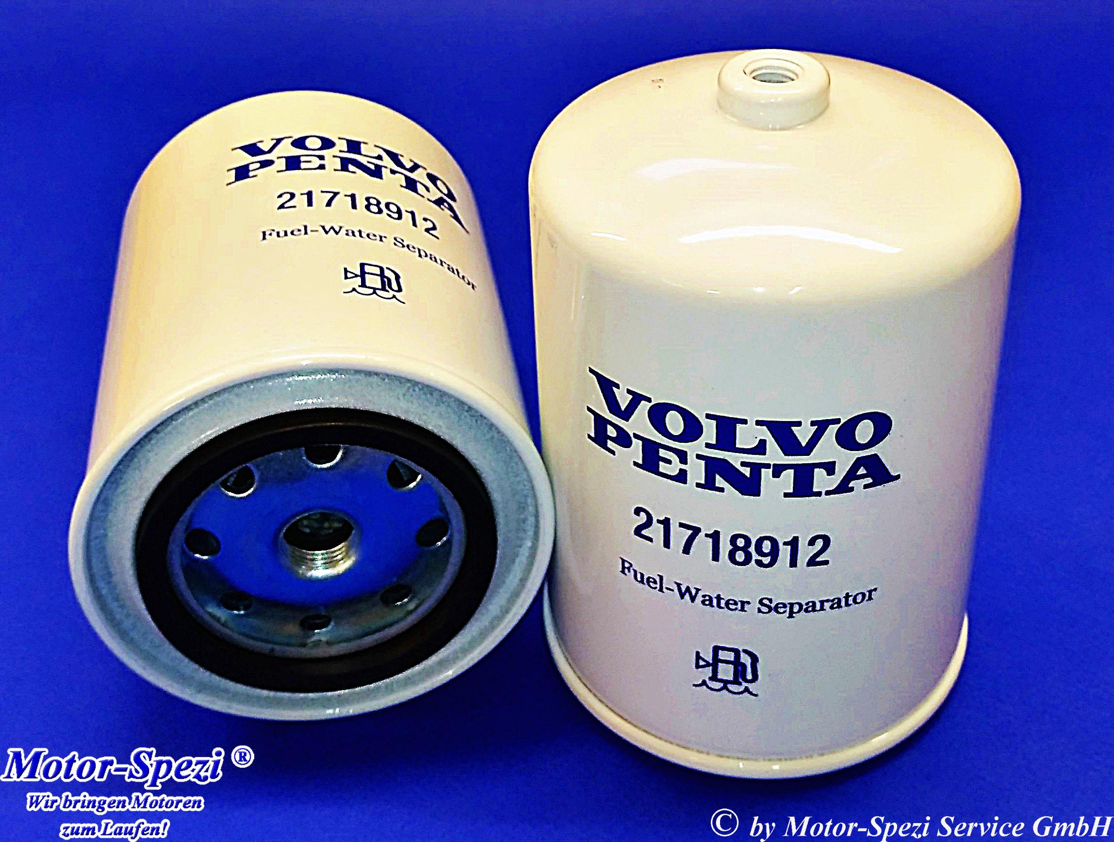 Kraftstofffilter für Volvo Penta D4 und D6 ersetzt 21718912