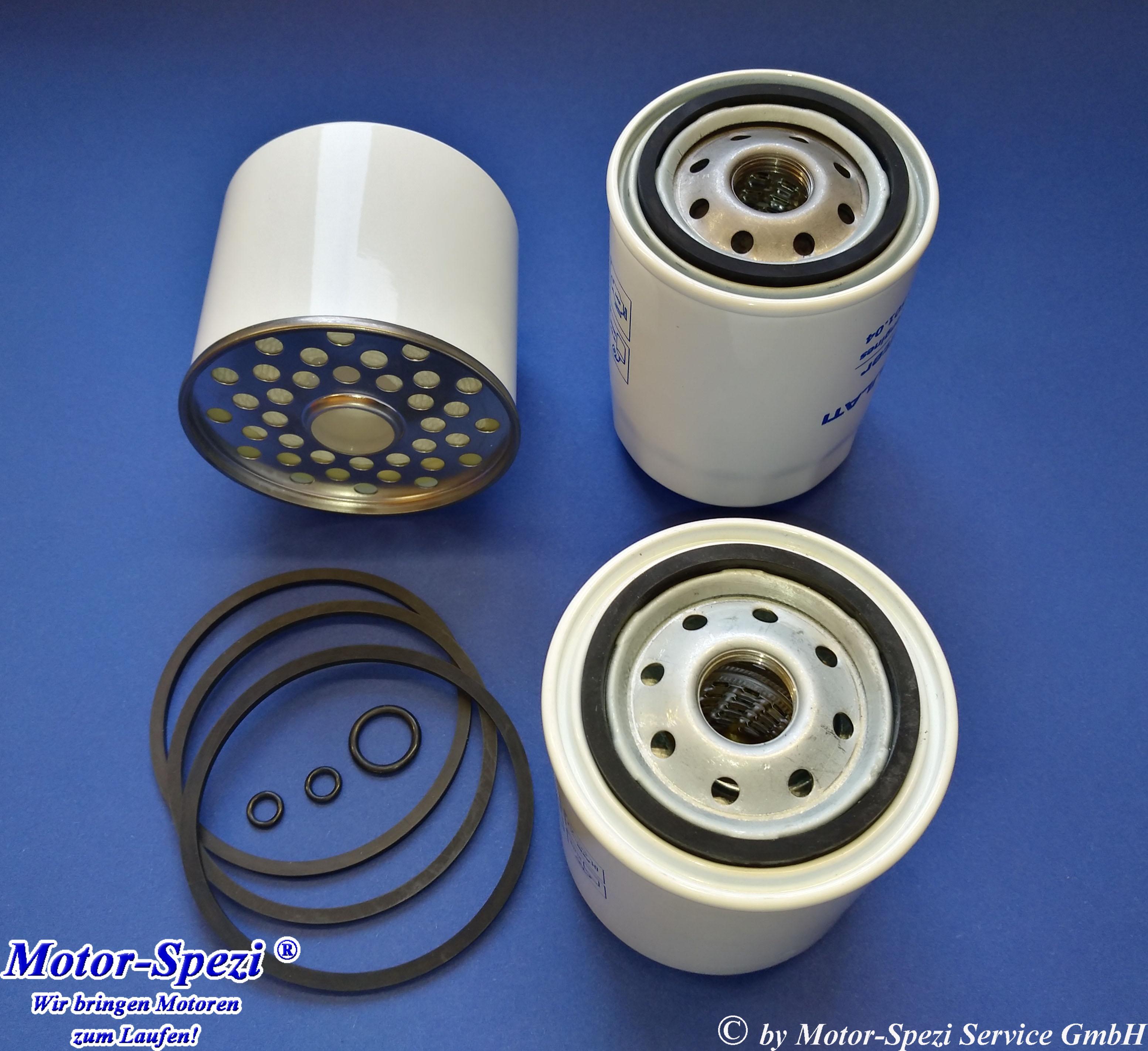 Motor Spezi Filtersatz Passt Fur Volvo Penta Md2020 Md2030 Und Md2040 Passt Auch Fur Motoren Mit Dem Olfilter 3840525 Ersetzt Oem 3581078 861477 21549544 Und 3581621